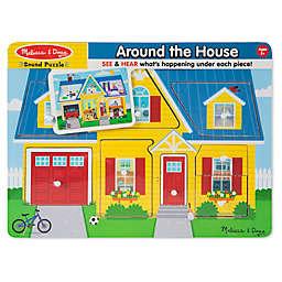 Melissa & Doug® 8-Piece Around the House Sound Puzzle