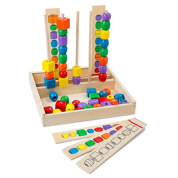 667841b35123 Melissa & Doug® Bead Sequencing Set | buybuy BABY