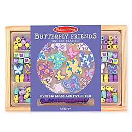 Melissa & Doug® Butterfly Friends Wooden Bead Set