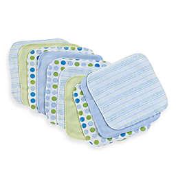 Spasilk® 10-Pack Washcloths in Blue