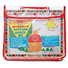 Melissa & Doug® 120-Piece Magnetic Pattern Block Kit