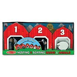 Melissa & Doug® Nesting & Sorting Barns & Animals