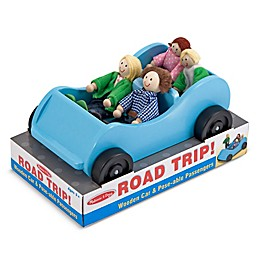 Melissa & Doug® Road Trip! Wooden Car & Pose-able Passengers