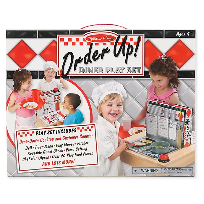 Alternate image 1 for Melissa & Doug® Order Up! Diner Playset
