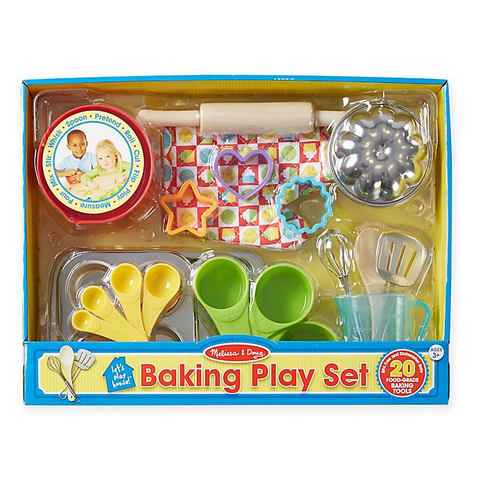 Alternate image 1 for Melissa & Doug® Let's Play House! Baking Play Set