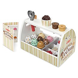 Melissa & Doug® 20-Piece Scoop & Serve Ice Cream Counter Set