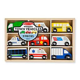 Melissa & Doug® Wooden Town Vehicles Set