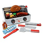 Melissa & Doug® 24-Piece Wooden Rotisserie & Grill Barbecue Set