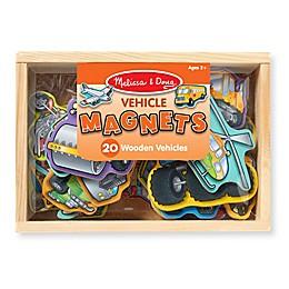 Melissa & Doug® Wooden Vehicle Magnet Set