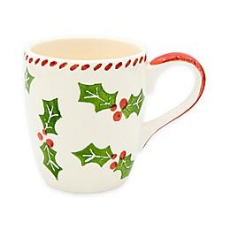 Euro Ceramica Natal Festive Holiday Mugs (Set of 4)