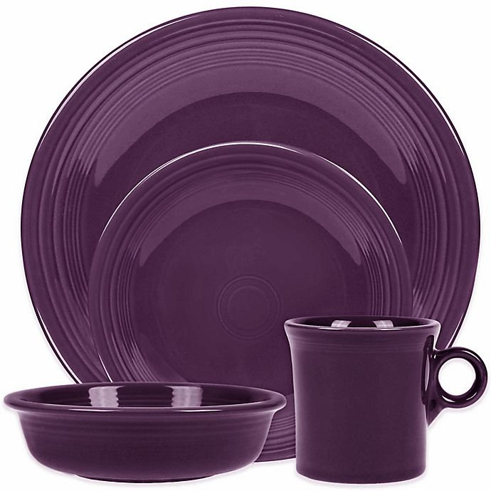 Alternate image 1 for Fiesta® Dinnerware Collection in Mulberry