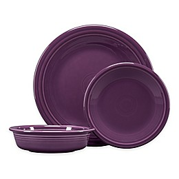 Fiesta® 3-Piece Classic Place Setting in Mulberry
