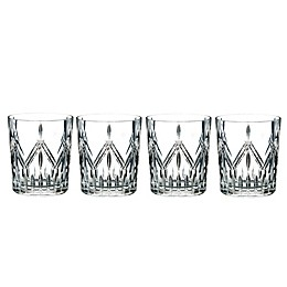 Marquis® by Waterford Lacey Double Old Fashioned Glasses (Set of 4)