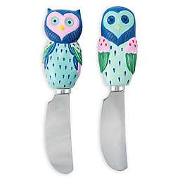 Boston Warehouse® Artsy Owl Spreaders (Set of 2)