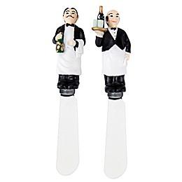 Boston Warehouse® Artsy Waiters Spreaders (Set of 2)
