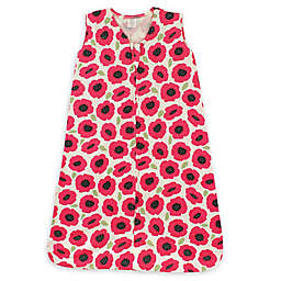 Touched by Nature® Size 12-18M Poppy Organic Cotton Sleeping Bag in Red