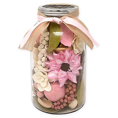 Lumiere English Garden Mason Jar Potpourri