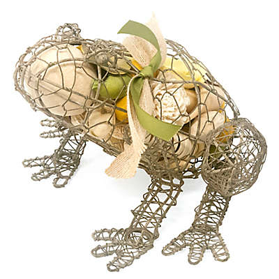 Lumiere Summer by the Pond Wire Cage Frog Potpourri