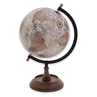 Ridge Road Décor 14-Inch Vintage Style Globe