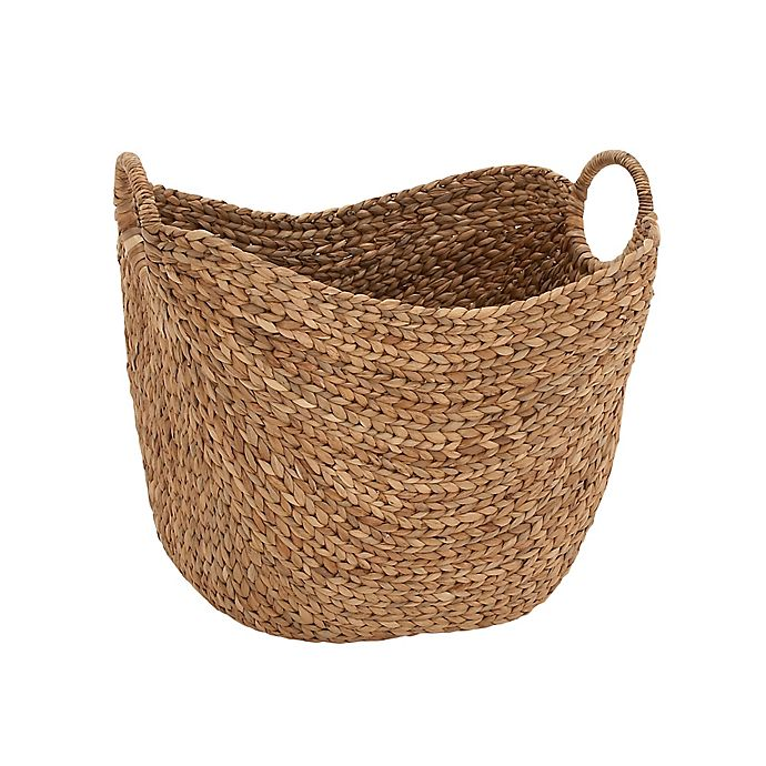 Alternate image 1 for Ridge Road Décor Oval Seagrass Basket