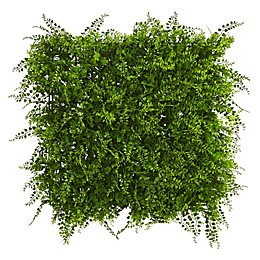 Nearly Natural 20-Inch Mediterranean Fern Living Wall