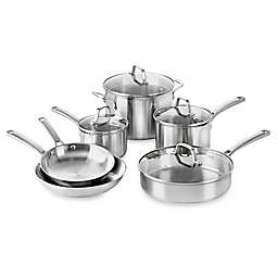 Calphalon® Classic™ Stainless Steel 10-Piece Cookware Set