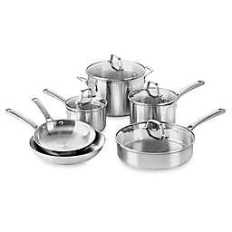Calphalon® Classic™ Stainless Steel 10-Piece Cookware Set