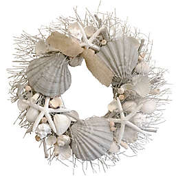 Lumiere Sunset Ocean Waves Wreath
