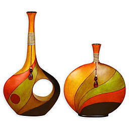 Ridge Road Décor Swirl Vase Collection