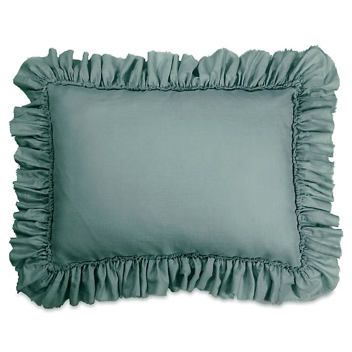 Alternate image 1 for Wamsutta® Vintage Gauze Ruffle Standard Pillow Sham