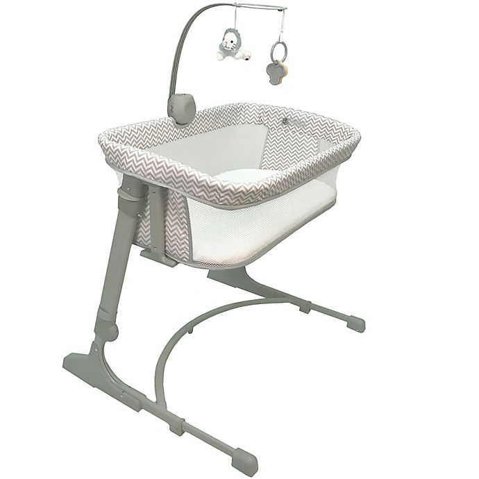 Alternate image 1 for Arm's Reach® The Co-Sleeper® Versatile Bassinet in Chevron