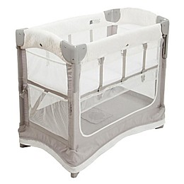 Arm's Reach® Mini Ezee™ Deluxe 2-in-1 Co-Sleeper® Bassinet in Grey/White