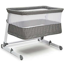 Beautyrest Room2Grow Bedside Newborn Bassinet to Infant Sleeper in Grey by Delta Children