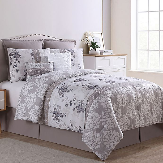 Alternate image 1 for VCNY Home Willa 8-Piece Comforter Set