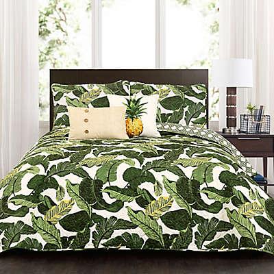 Lush Decor Tropical Paradise Quilt Set