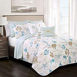 Lush Decor Harbor Life 7-Piece Reversible Quilt Set