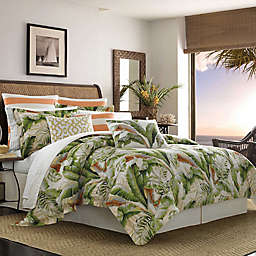Tommy Bahama® Palmiers Reversible California King Comforter Set in Green