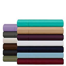 Elegant Comfort Wrinkle Resistant Stripe Sheet Set