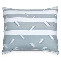 Peri Home Stripe Fringe Pillow Sham