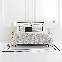 kate spade new york Flamingo Dot Full/Queen Duvet Set