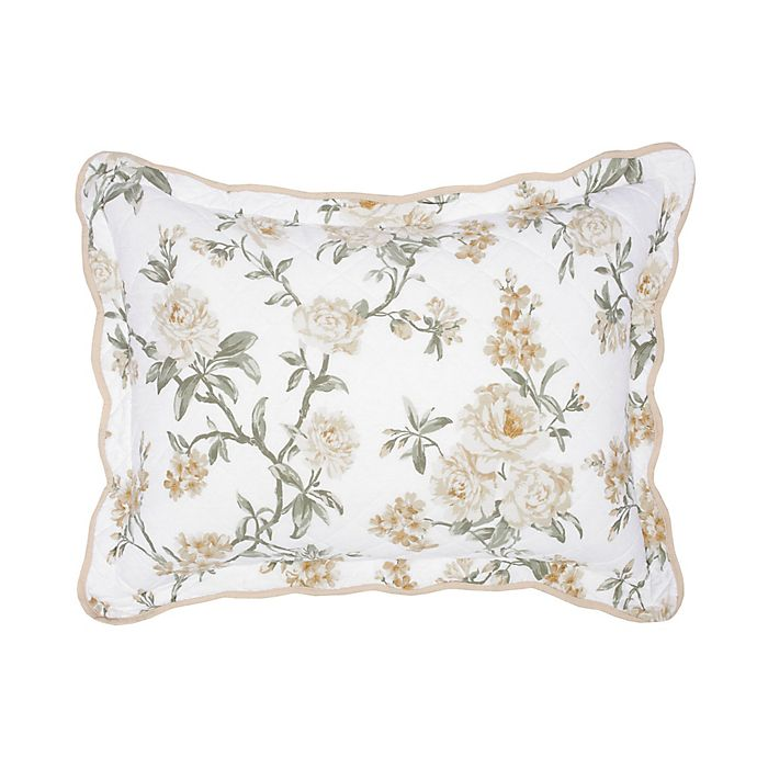 Alternate image 1 for Nostalgia Home Juliette King Pillow Sham in Floral Print
