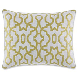 Tommy Bahama® Palmiers Oblong Throw Pillow in Light Green