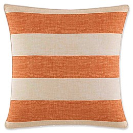 Tommy Bahama Palmiers Square Throw Pillow in Apricot