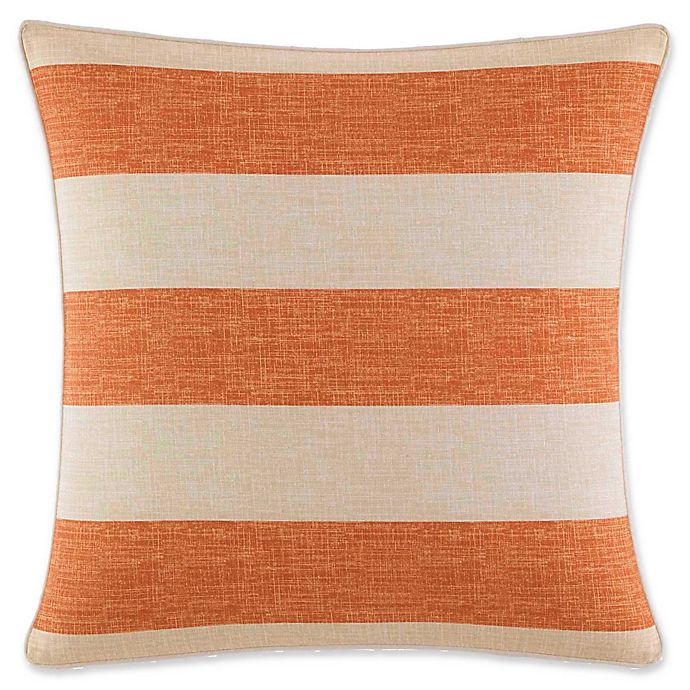Alternate image 1 for Tommy Bahama Palmiers Square Throw Pillow in Apricot