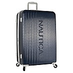 Nautica® Life Boat 28-Inch Hardside Spinner Checked Luggage in Navy/Grey