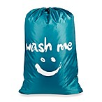 Wash Me  Novelty Laundry Bag in Blue