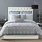 Christian Siriano Ombre Lace Reversible Twin XL Comforter Set in Blue