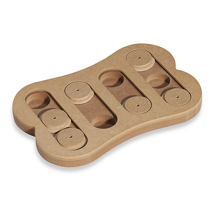 Alternate image 1 for Spot Sneak A Treat™ Shuffle Bone™ Pet Toy IQ Puzzle