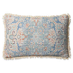 Magnolia Home Elena Oblong Throw Pillow in Blue/Multi