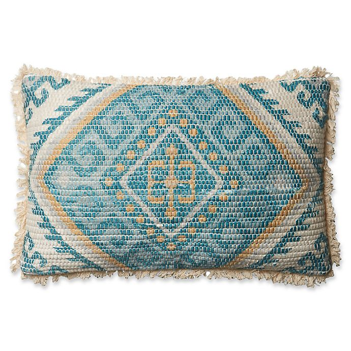 Magnolia Home Zulla Oblong Throw Pillow In Blue Multi